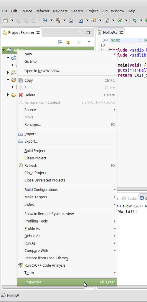 Guida installazione e configurazione ambiente di sviluppo Eclipse